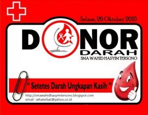 donor darah whaterbat